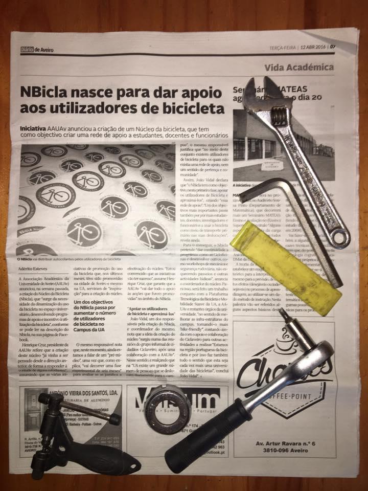 Reportagem do Diário de Aveiro