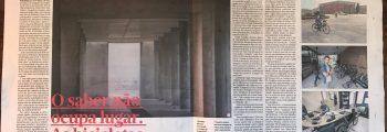 Reportagem do Jornal de Noticias